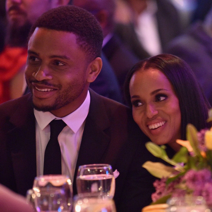 Kerry Washington And Husband Nnamdi Asomugha Were All Smiles At Bronx's Children Museum Gala