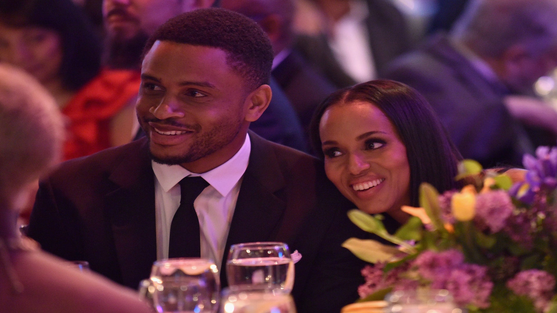 Kerry Washington And Husband Nnamdi Asomugha Were All Smiles At Bronx's Children Museum Gala