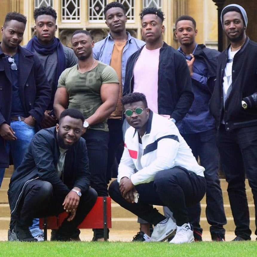 These Photos Of Black Men At Cambridge University Have People Concerned About Diversity