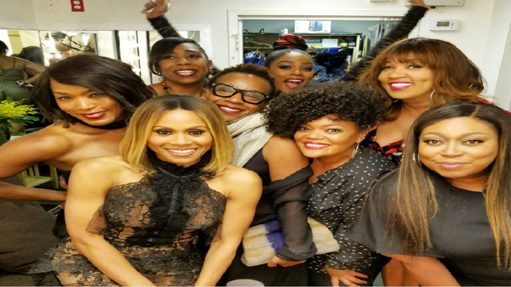 Deborah Cox's Squad Came Out To Support Her In 'The Bodyguard' Play