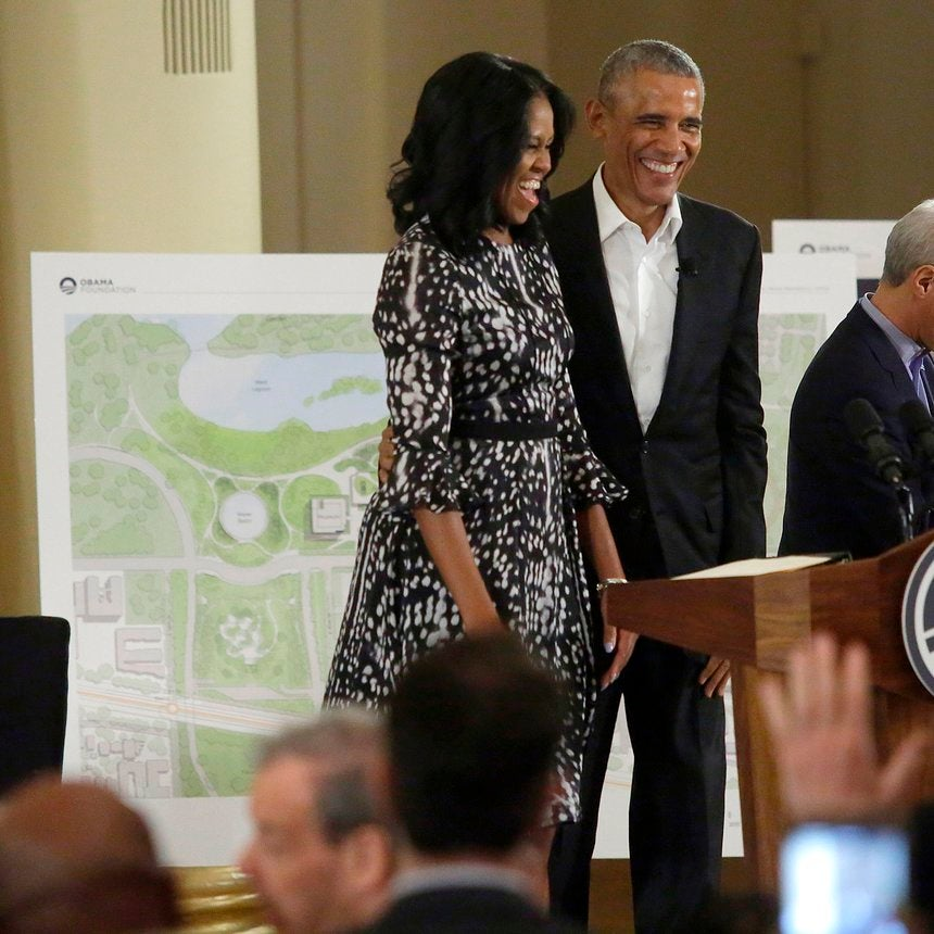 Michelle Obama's Excitement About The New Obama Presidential Center Is Contagious