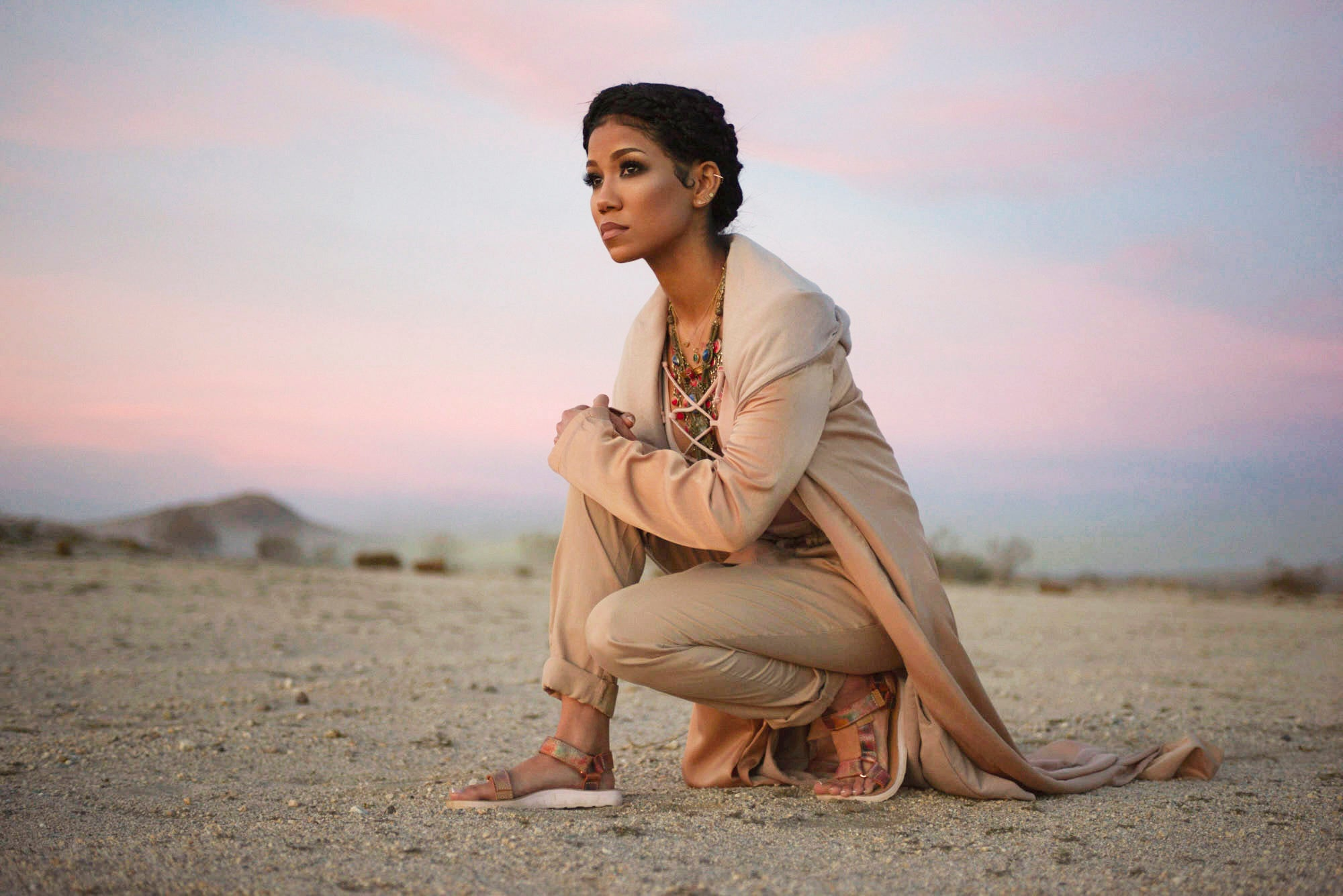 2796ea33e9d4 Jhene Aiko Teams Up With Teva for Ultimate Cool-Girl Shoe Collection