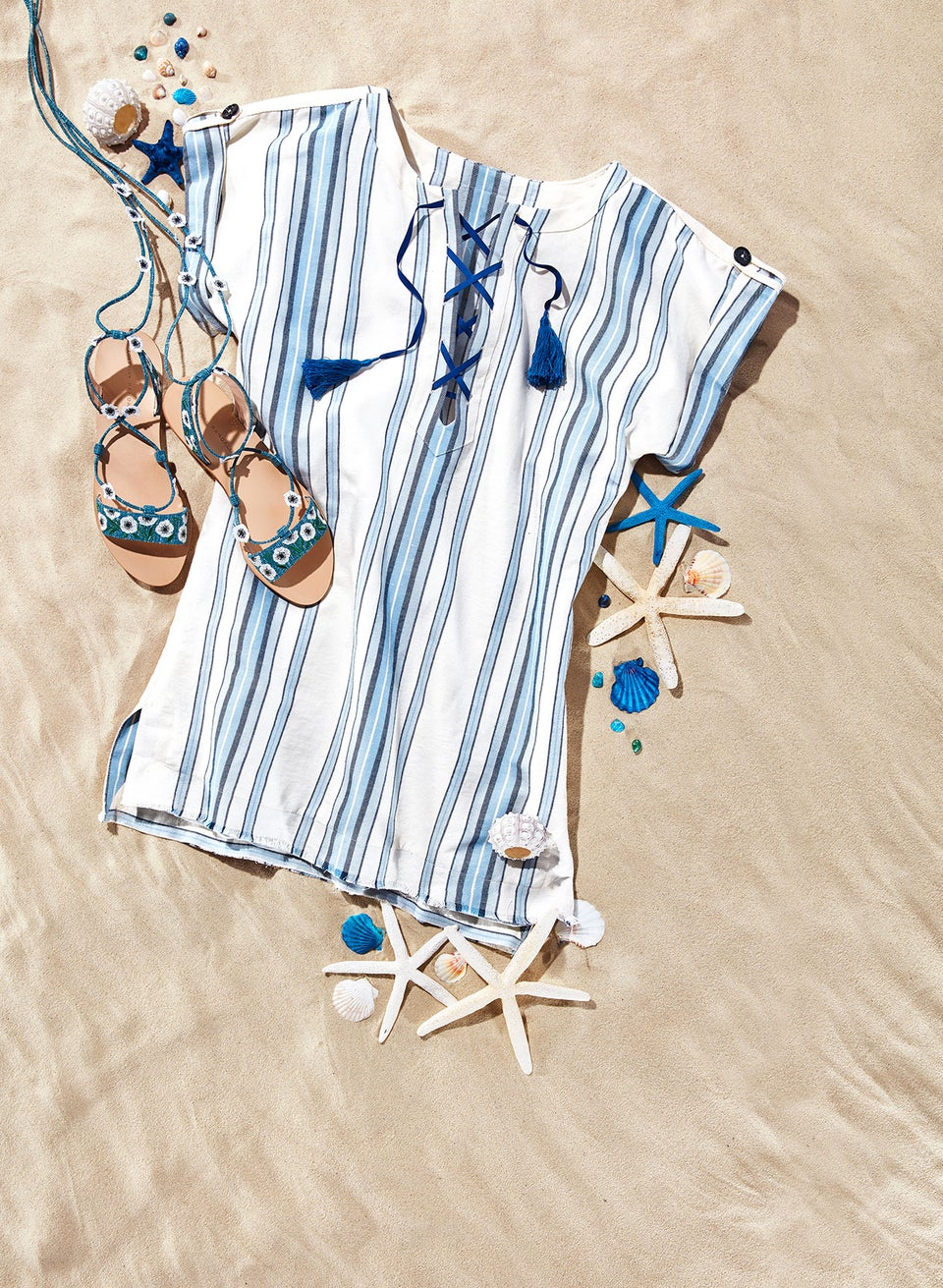 Dynamic Duo! The Tunics and Sandals You Need for Summer '17