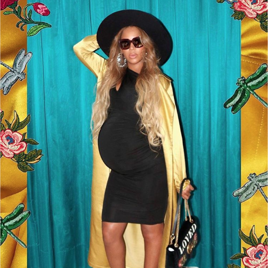 Only Beyoncé Would Dare to Rock These Towering Platforms While Pregnant