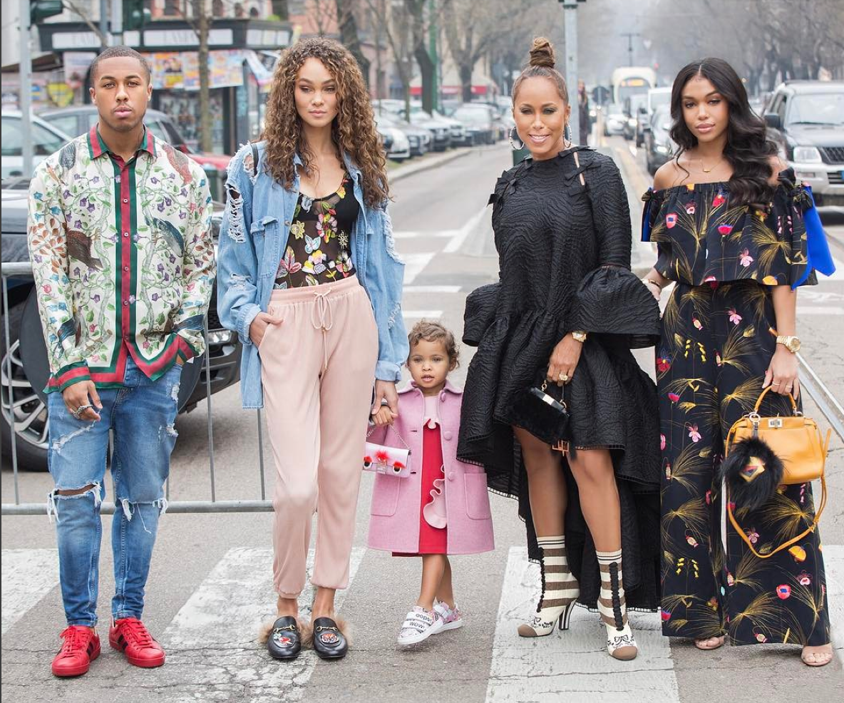 These Celeb Moms & Their Kids Are Instagram's Most Stylish