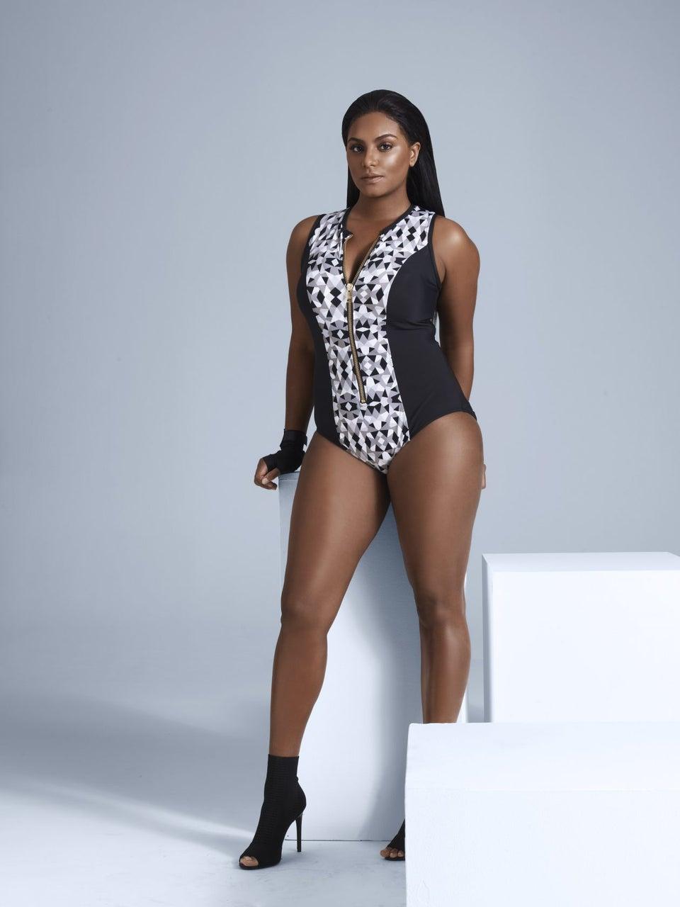 Queen Latifah's Stylist Debuts Plus Size Swim Collection, Talks Celebrating Curves