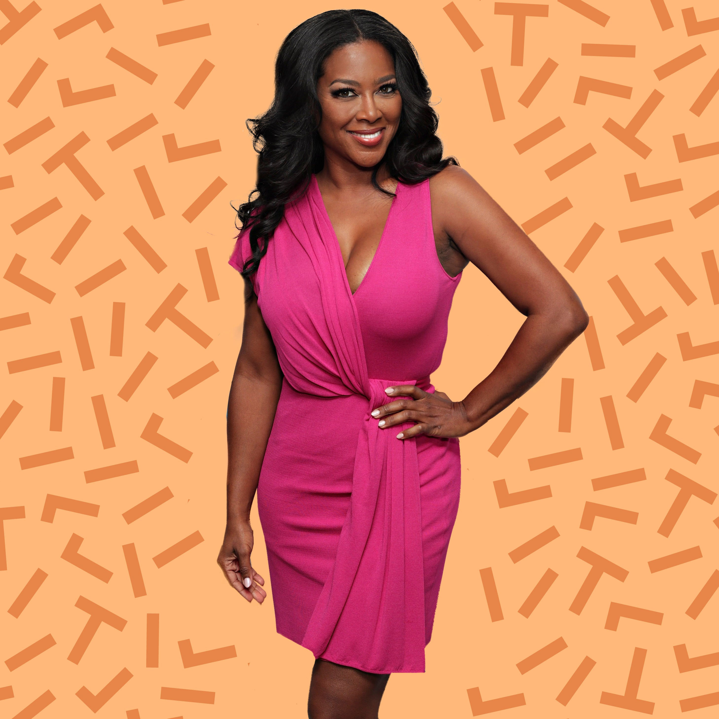 Kenya Moore Hair Tips Essence