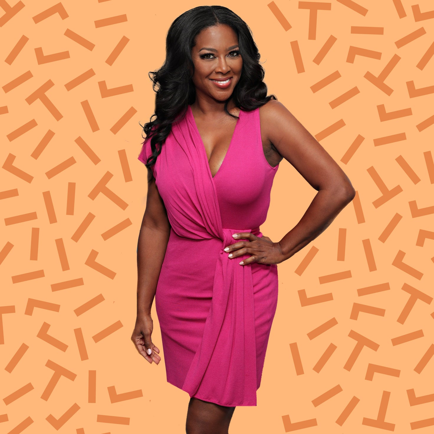 Kenya Moore's Tip For Growing Long and Healthy Hair Is Impossible To Mess Up
