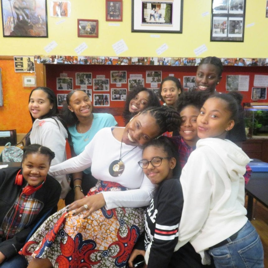 How One Boston Teacher Reminds Her Girl Students That Their Black Is Beautiful In Viral Video