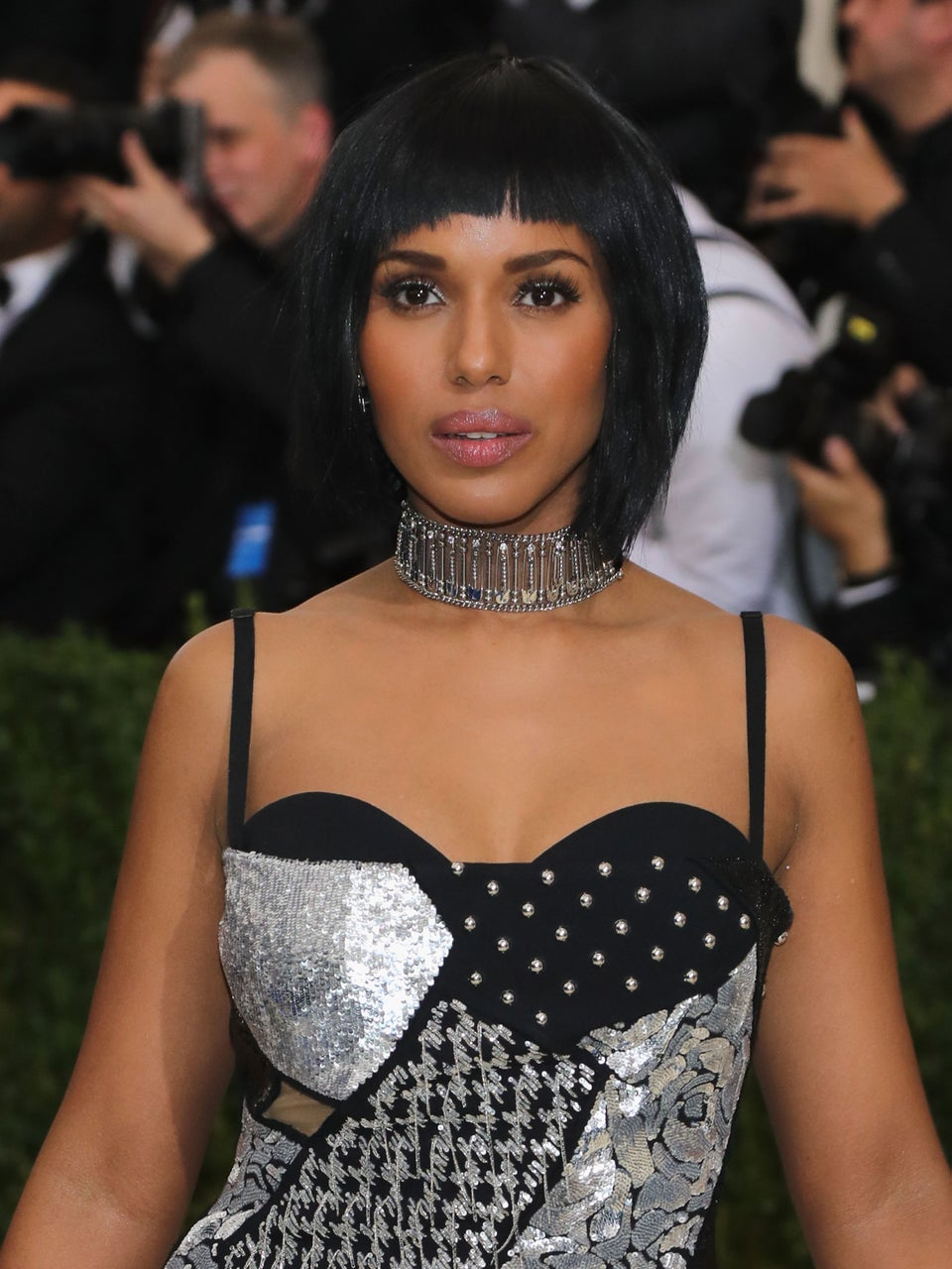 Kerry Washington's No-Frills Beauty Advice Is Inspired By Her Mother