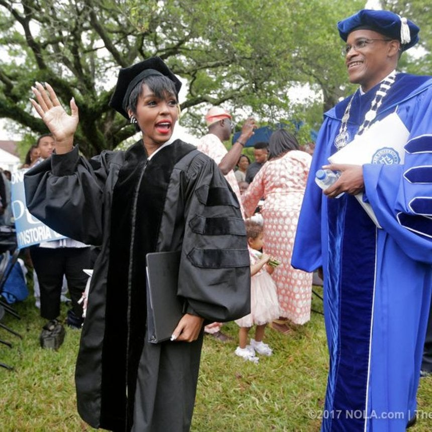 Janelle Monae Urges Dillard Graduates To Choose 'Freedom Over Fear' In Her First Commencement Speech