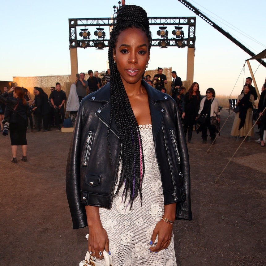 Kelly Rowland Has The Perfect Style Remedy for Chilly, Spring Weather