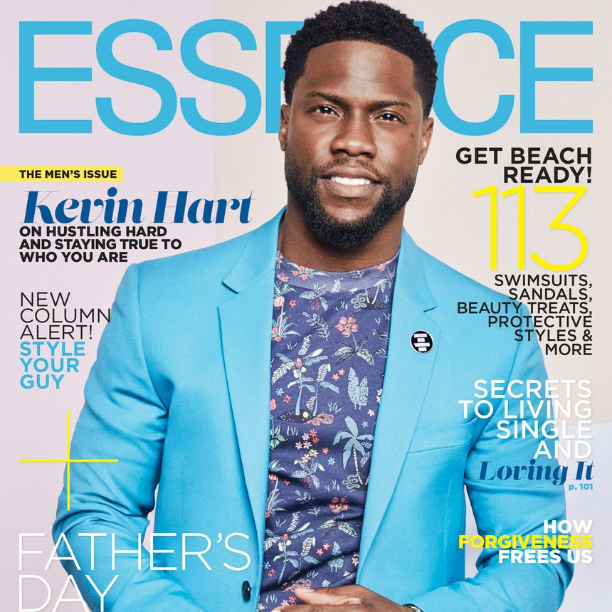 We Can't Get Enough Of Unstoppable Kevin Hart On ESSENCE's June 2017 Cover