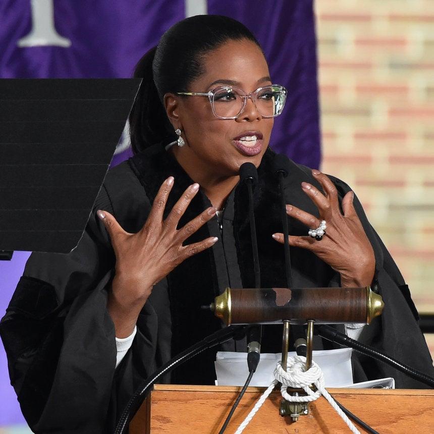 Oprah Winfrey Blessed Agnes Scott College Graduates With Practical Words Of Wisdom