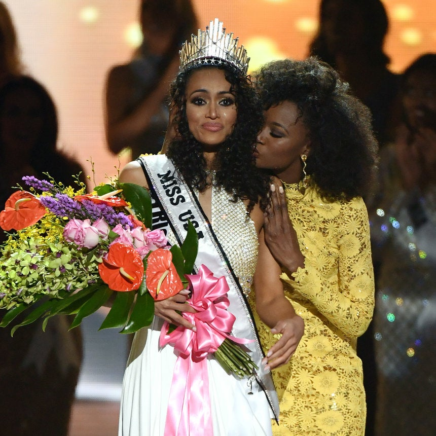 Miss USA Kára McCullough Dishes On The Moment She Almost Didn't Compete In Curly Hair