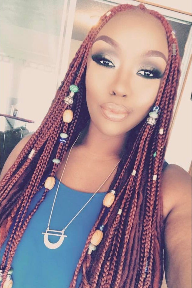Braids With Beads Inspiration Essence