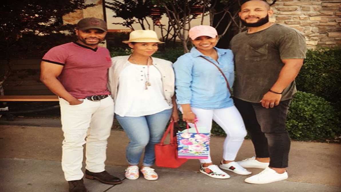 Kirk Franklin and Wife Double Date With Their Daughter and Her Husband