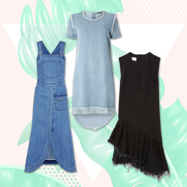3dbf9beab454b The Best Denim Dresses for Summer 2017 - Essence
