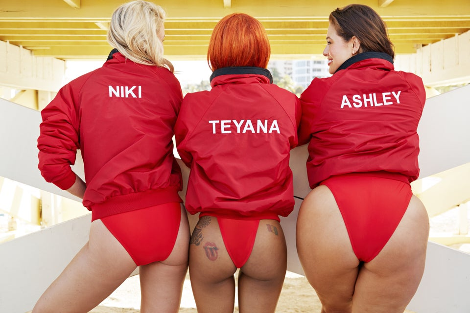 Teyana Taylor, Ashley Graham and Niki Taylor Front Swimsuit For All's Baywatch-Themed Campaign