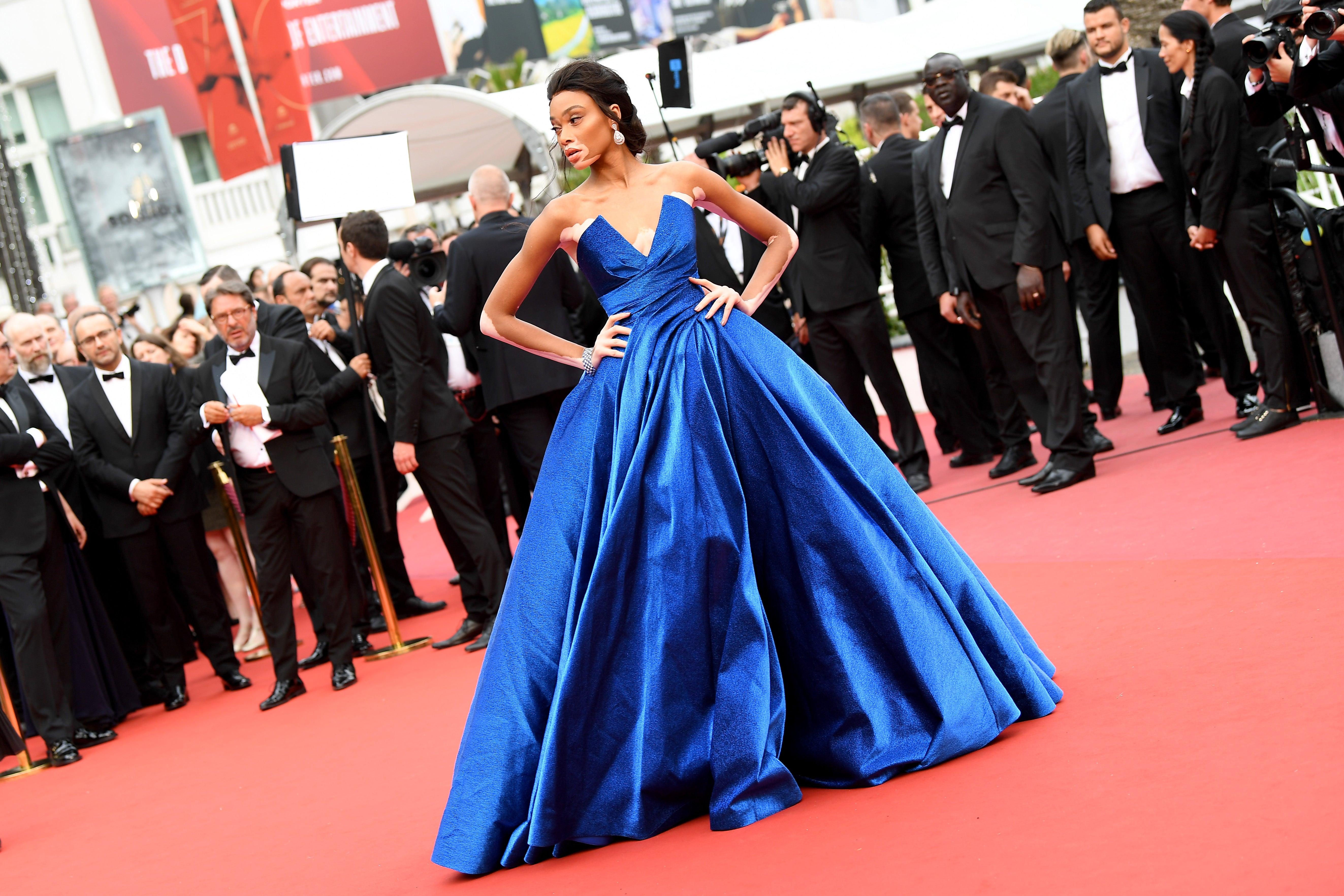 Winnie Harlow Just Shut Down the 2017 Cannes Film Festival Red Carpet
