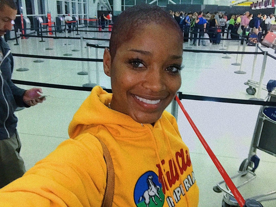 Keke Palmer Has Shaved Off All Her Hair!