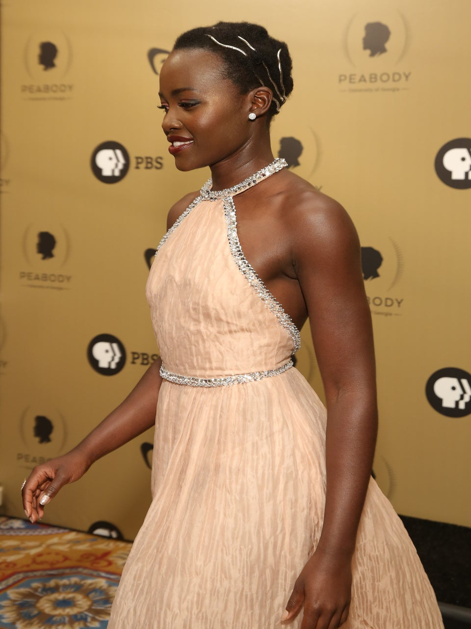 Lupita Nyong'o's Latest Red Carpet Hairstyle Is A Work Of Art
