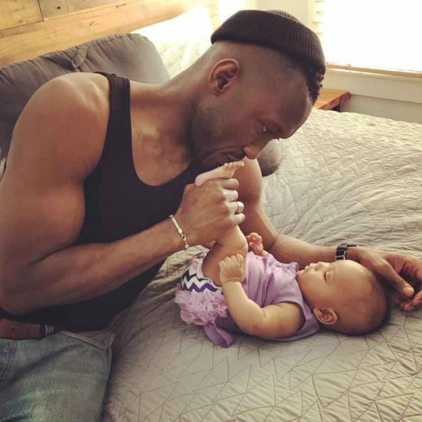 Daddy's Girl: Mahershala Ali Shares A Sweet Moment With Baby Bari On Instagram