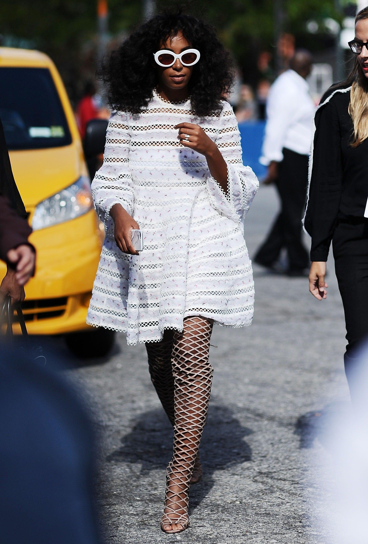 3 Solange-Inspired Ways to Wear White This Summer