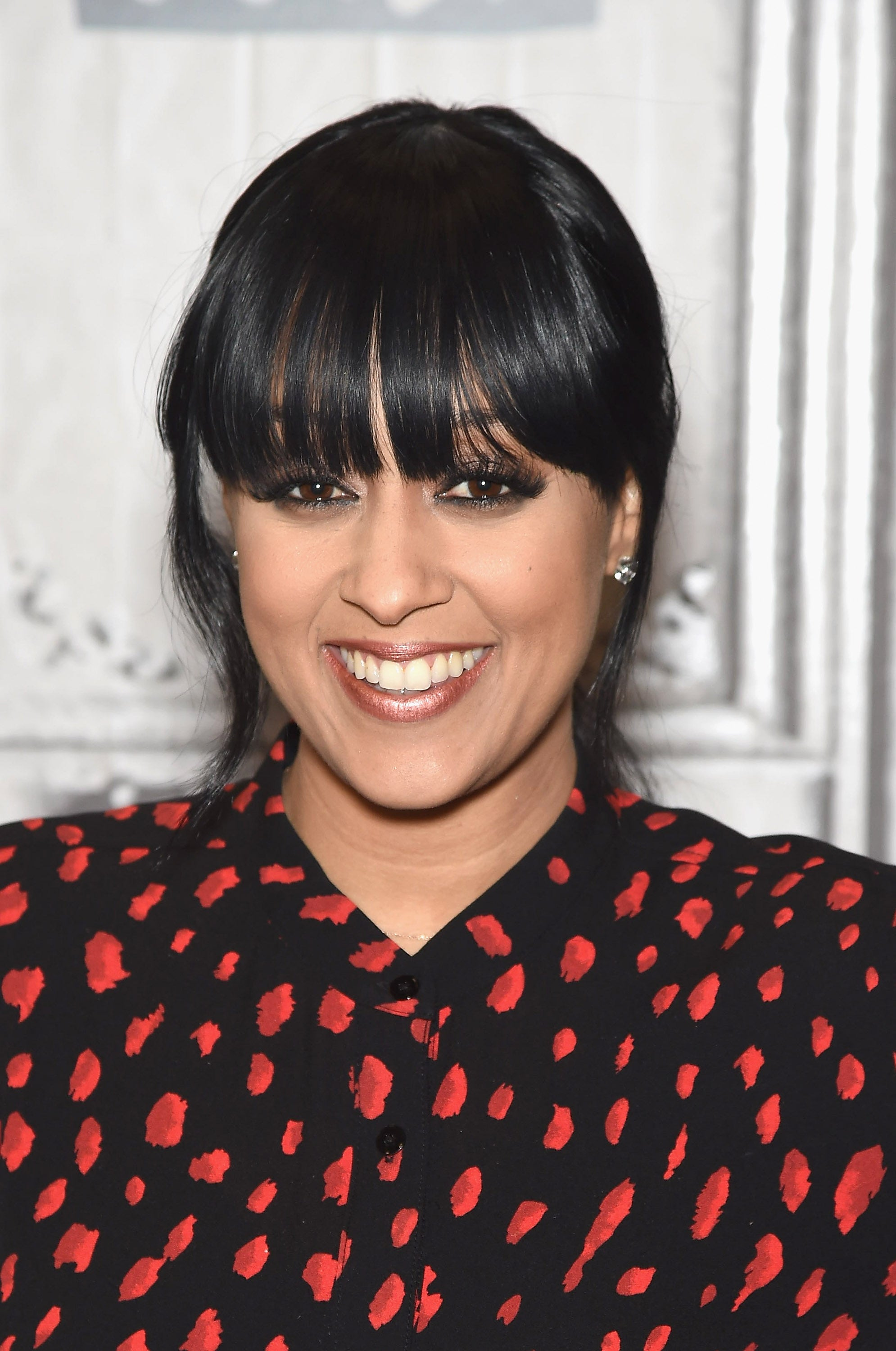 Tia Mowry Shows Off Her Gray Hair and Looks Flawless