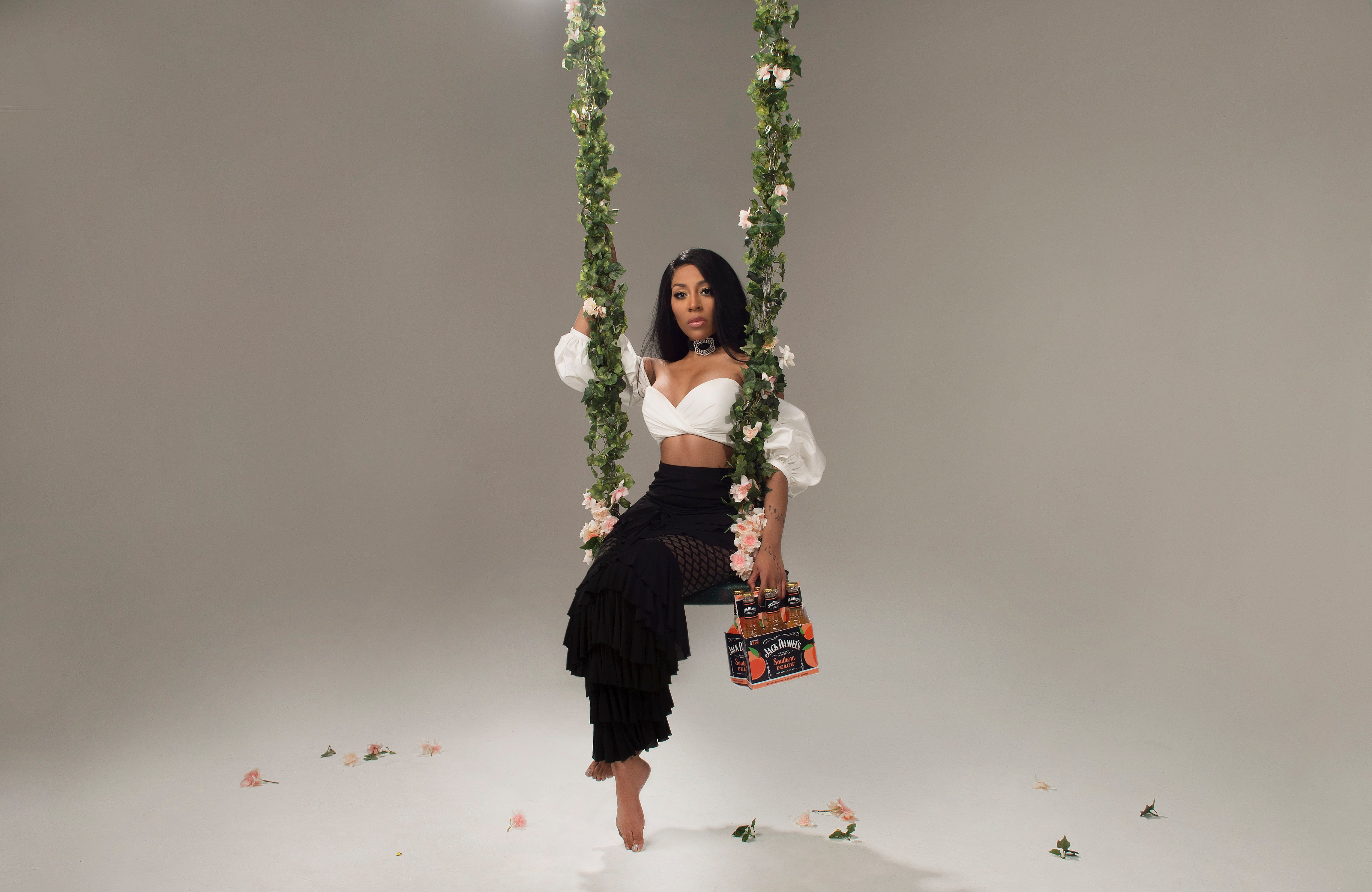 K. Michelle's New Southern Peach Jack Daniel's Country Cocktail Is Right On Time For Summer