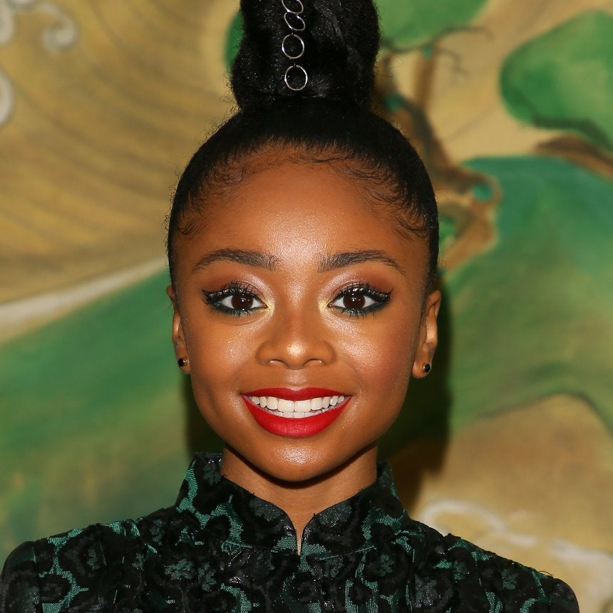 Skai Jackson Just Wore A Perfect Red Lipstick On The Red Carpet