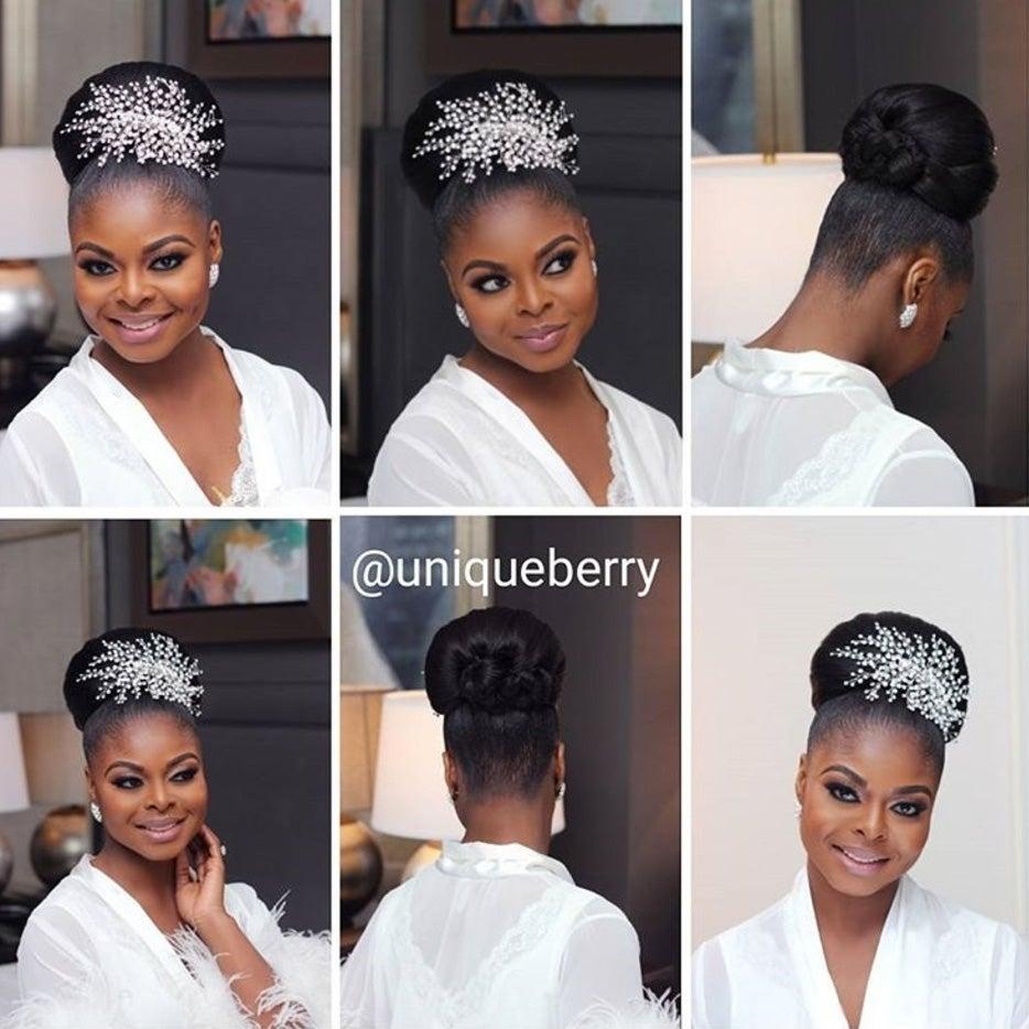 Wedding Natural Hairstyle: Bridal Hairstyles For Natural Hair