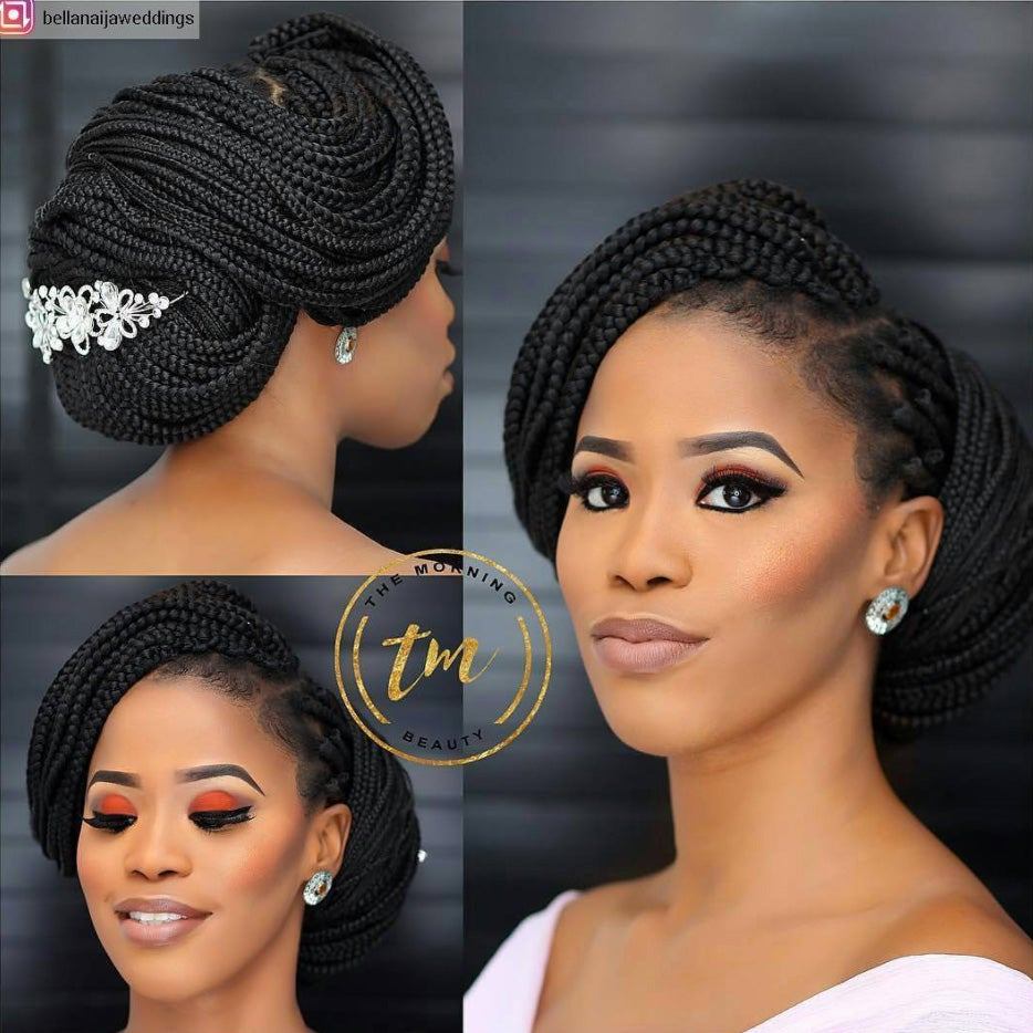 Wedding Hair Style For Black Bride: Bridal Hairstyles For Natural Hair