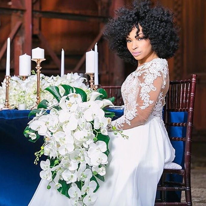 Wedding Hairstyle For Natural Hair: Bridal Hairstyles For Natural Hair