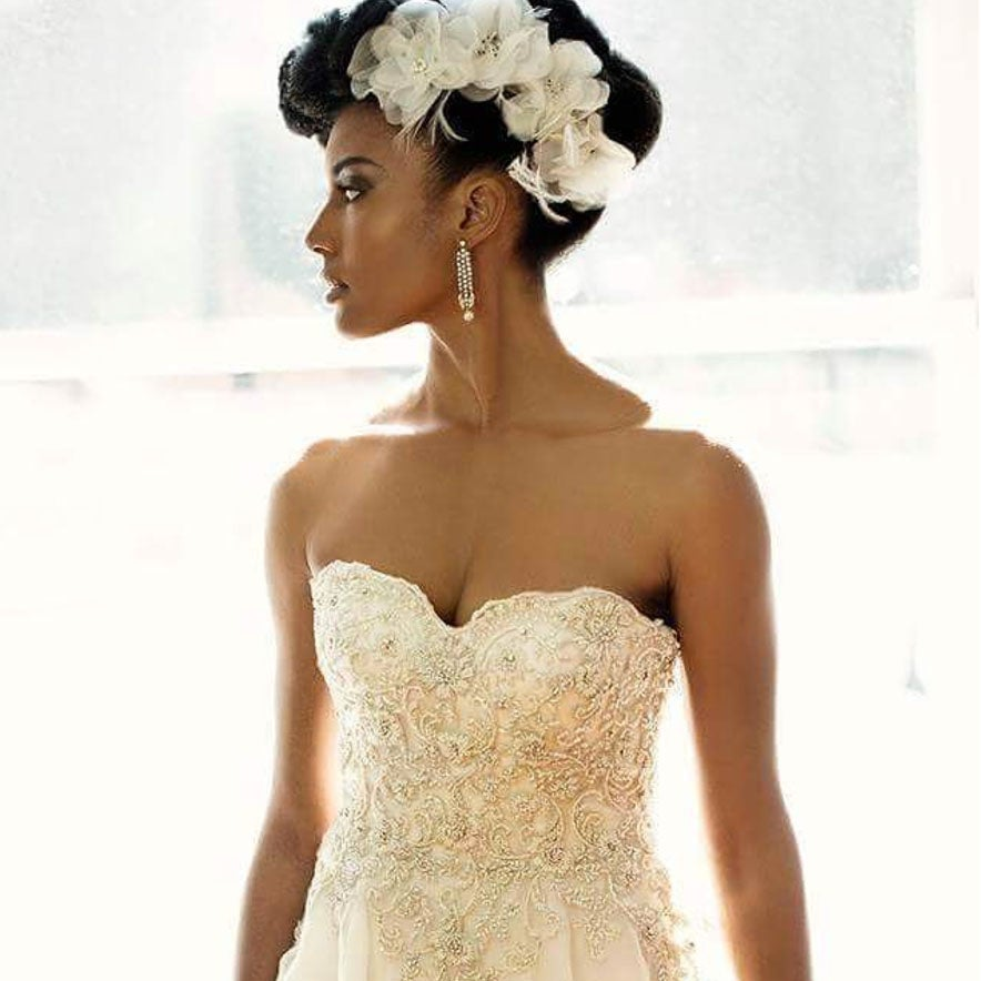 Bridal Hairstyles For Natural Hair Essence