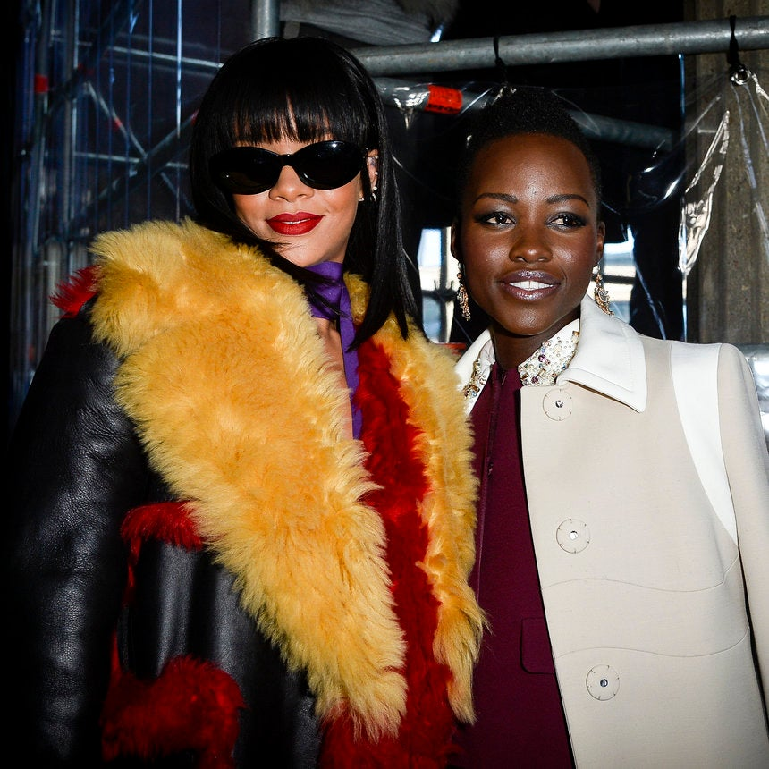 Here's The Scoop On That Rihanna-Lupita Movie We All Want To See