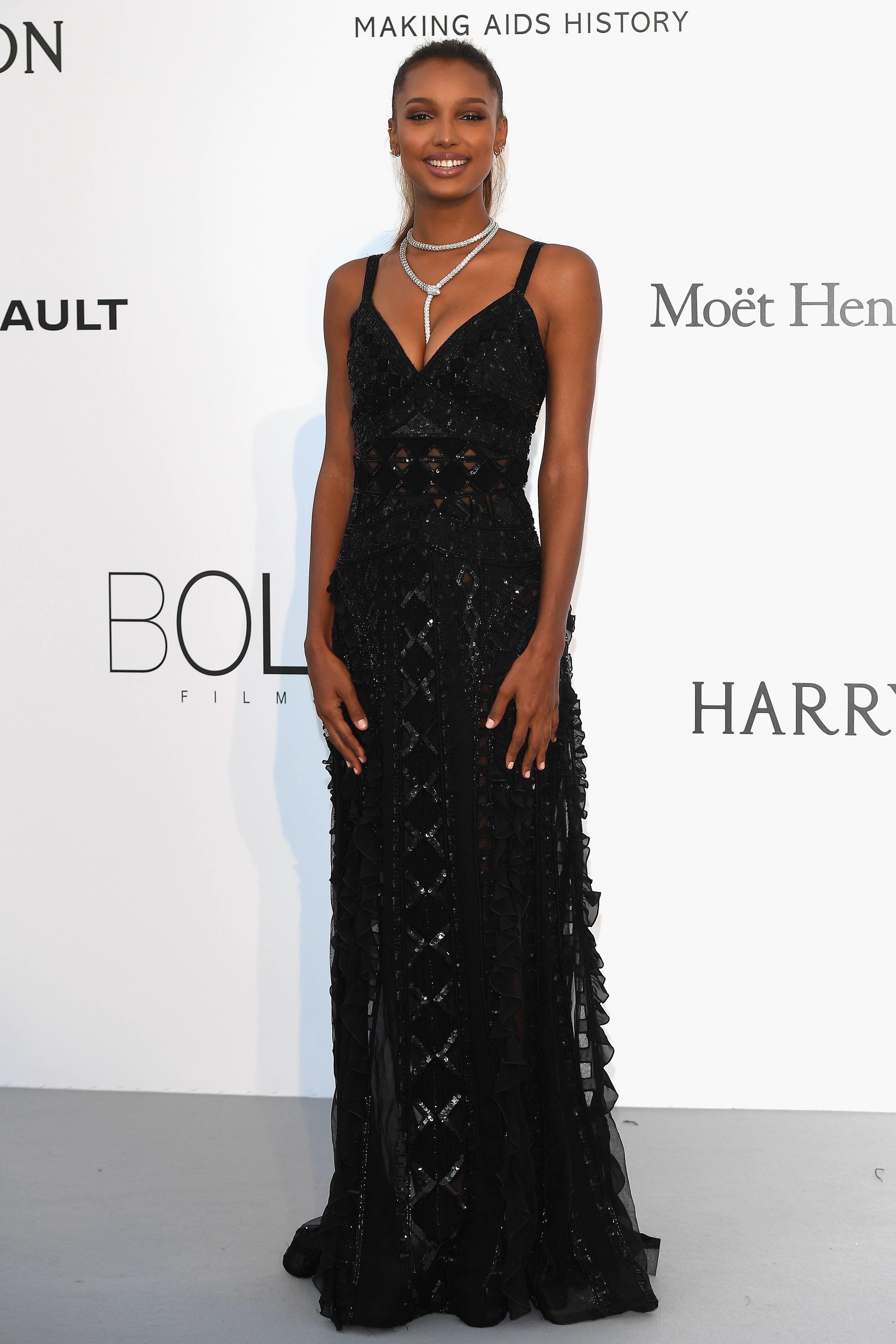 7d633c31318 Jasmine Tookes arrives at the amfAR Gala Cannes 2017 at Hotel du Cap-Eden-Roc  in Cap d Antibes