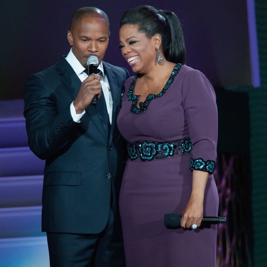 Oprah Winfrey Staged An Intervention For Jamie Foxx: She Said 'You're Blowing It'