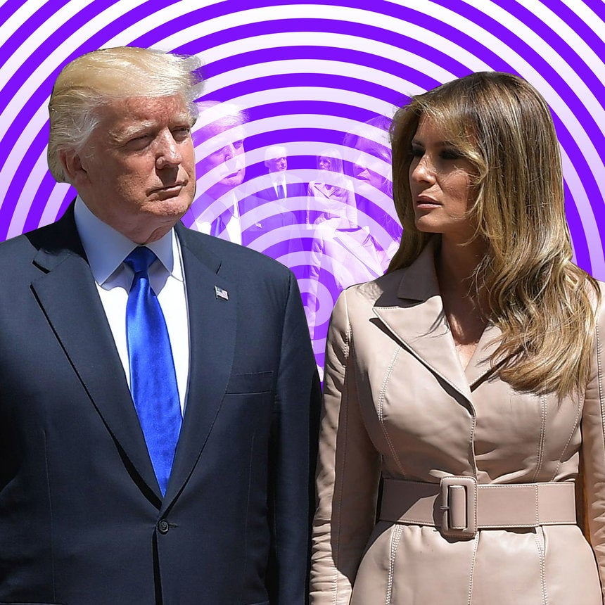 That Now-Infamous Hand Swat Isn't The First Time Melania Trump Curved Her Husband