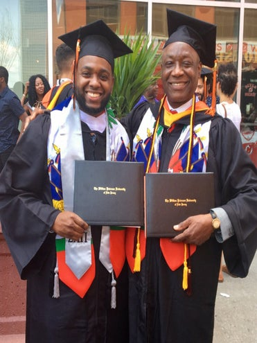 Son Graduates College Alongside His Immigrant Father: 'His Drive Inspired Me to Keep Going'