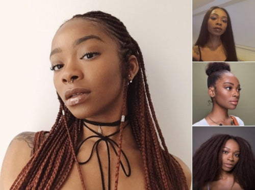 #BlackHairChallenge Was Trending On Twitter And It Was Lit