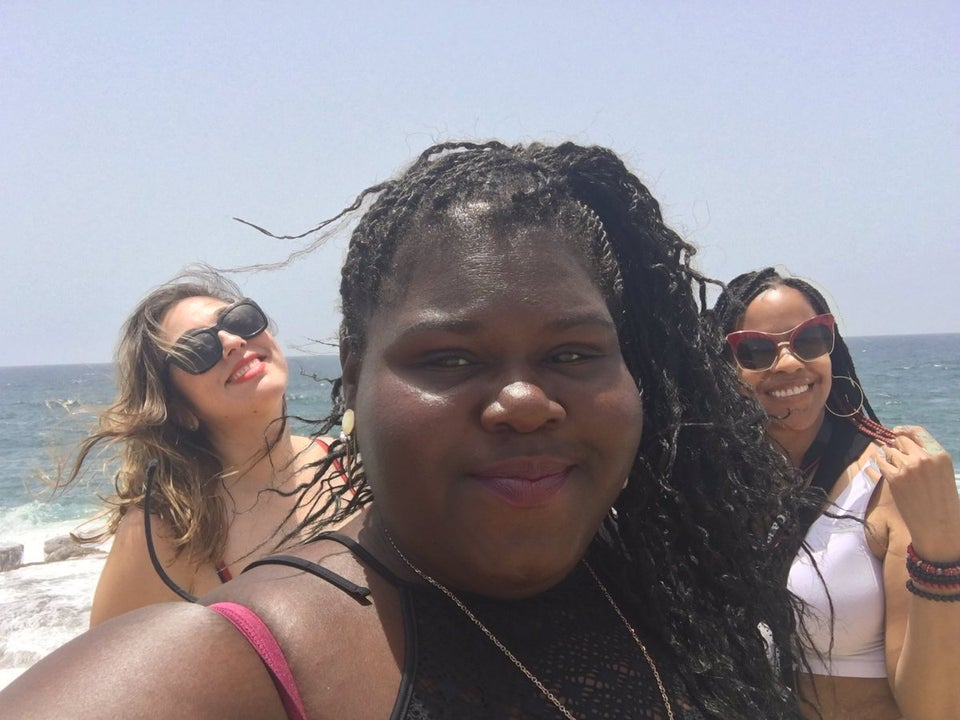 Gabourey Sidibe's Barbados Girls Trip Was Lit