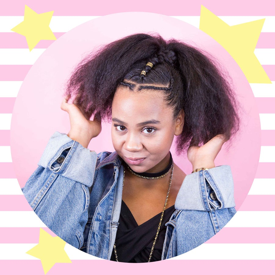 You Need This Braided Ponytail Tutorial For Festival Season