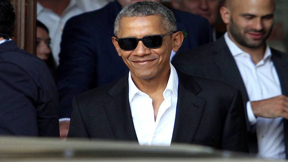 The Internet Goes Ga-Ga As Barack Obama Shows Ever More Skin With His Unbuttoned Shirts