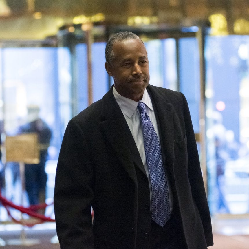Ben Carson: Poverty Is A 'State of Mind' Children Learn From Their Parents