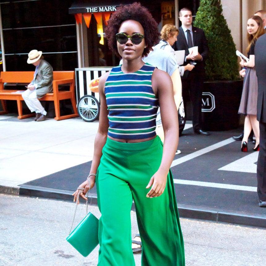Lupita Nyong'o Demonstrates How to Make an $11 Top Look Incredibly Chic