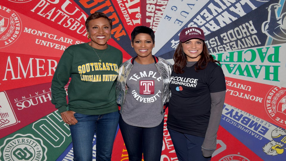 Celebs shouting out their colleges for college signing day