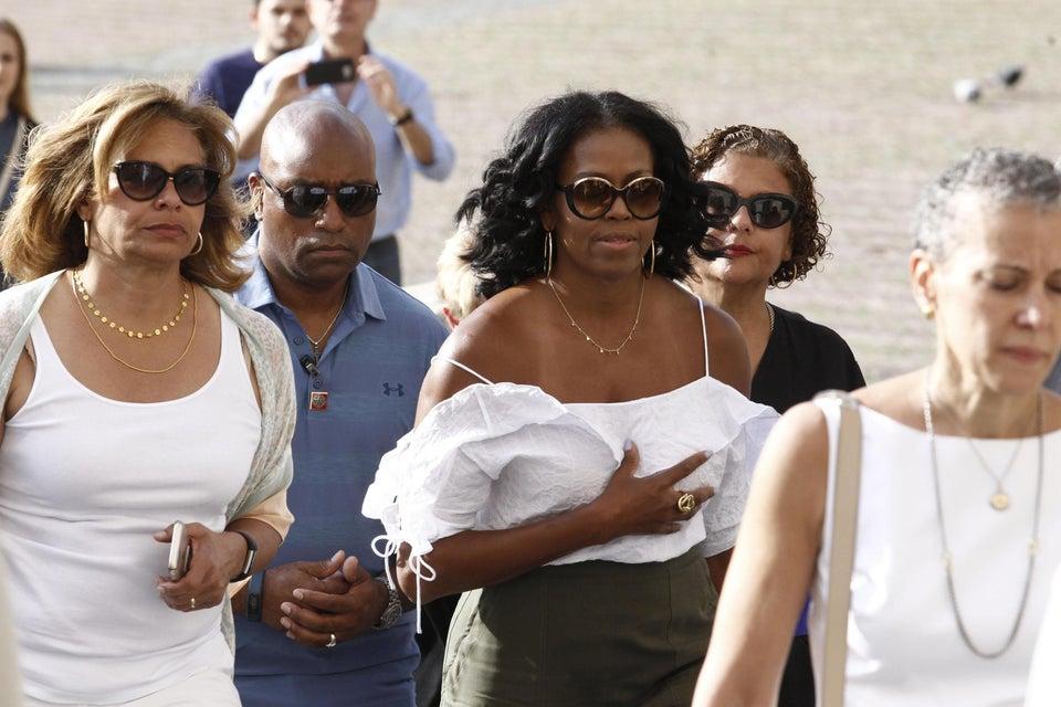 12 Fierce Michelle Obama-Inspired Off-The-Shoulder Tops