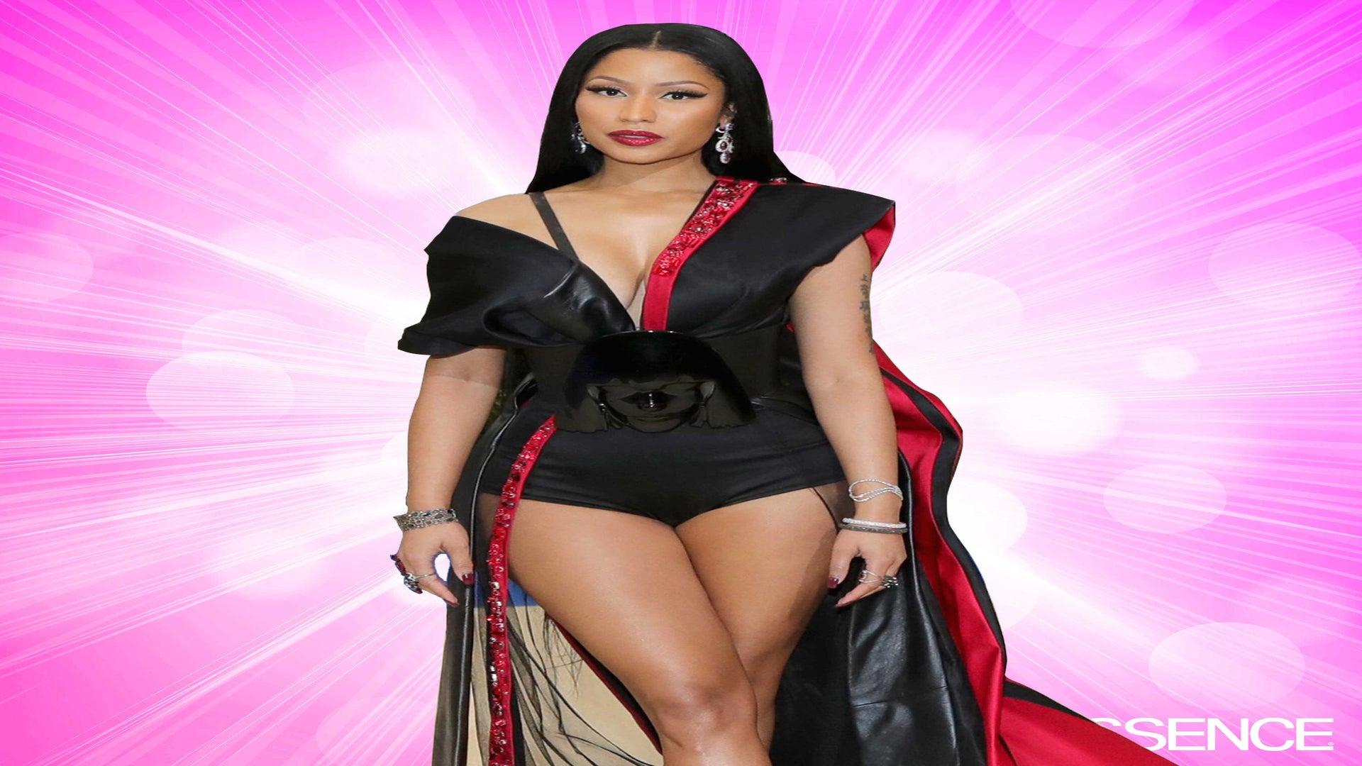You Have to See Nicki Minaj's Custom H&M Met Gala Gown