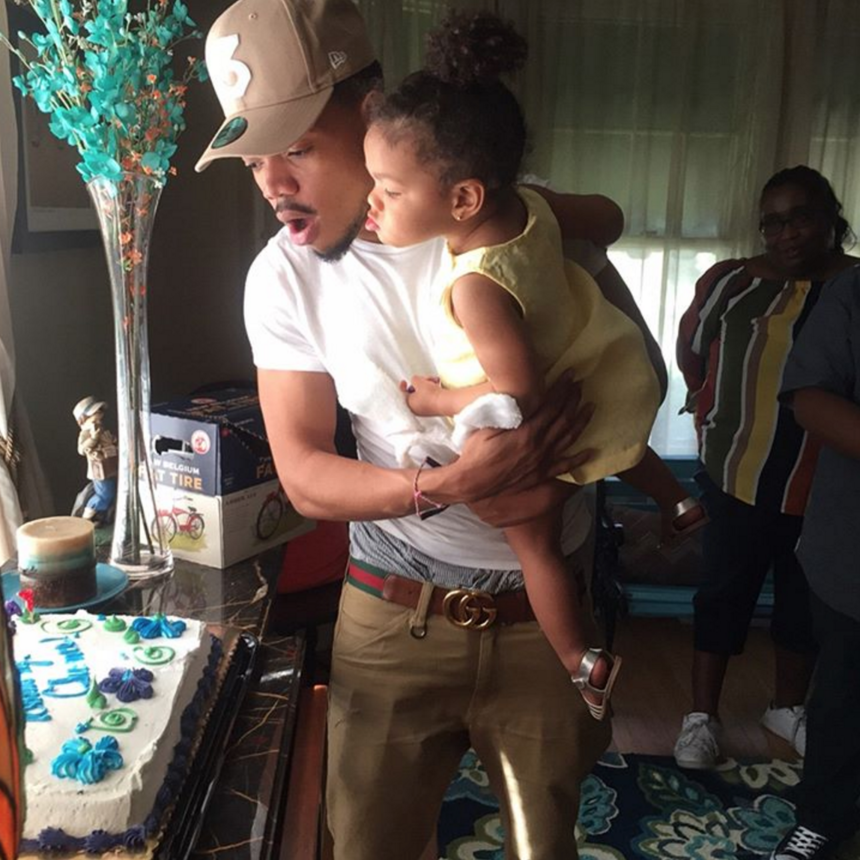 10 Photos of Chance The Rapper's Daughter Kensli That Will Steal Your Heart
